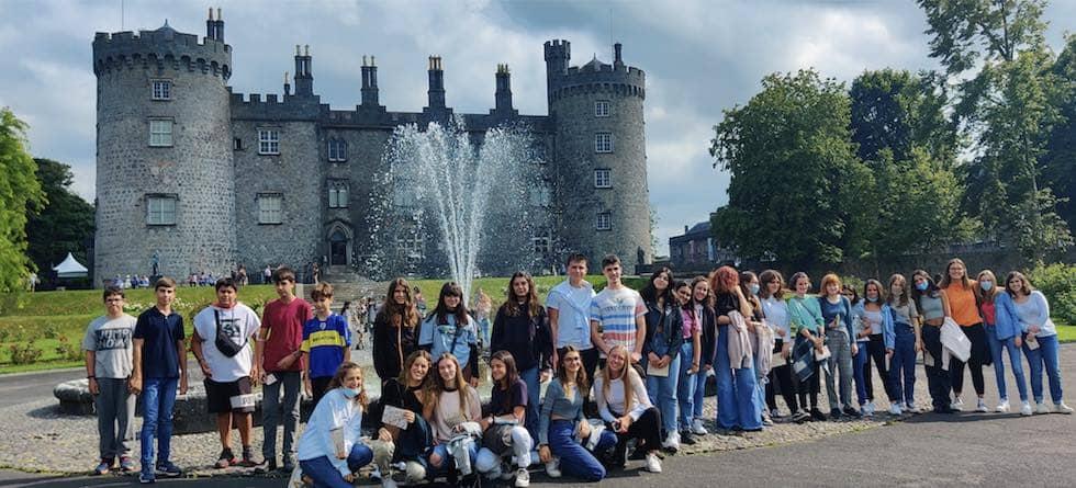 Schulklasse in Irland